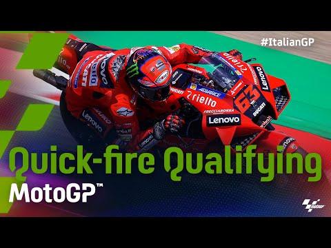MotoGP 2021 第6戦イタリア 予選ハイライト動画