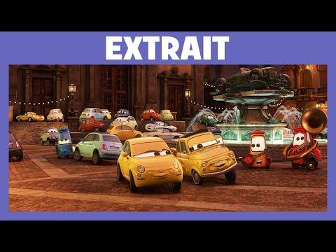 Cars 2 -  Extrait : Rencontre avec la famille de Luigi
