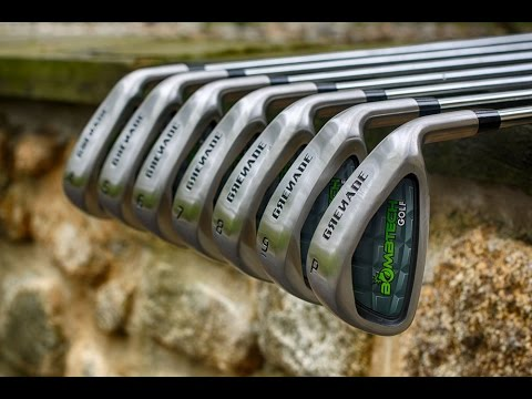 Bombtech Grenade Iron set On course review first shots Golf Vlog 31