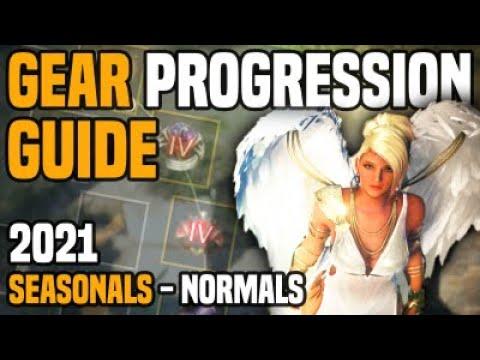 Black Desert Online - Gear Progression Guide ft. Seasonal Server and Normal Server