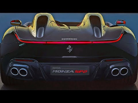 FERRARI MONZA SP1 And SP2 (2019) Exclusive Sports Car