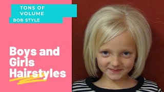 Short Haircuts For Little Girls - Short Hairstyles