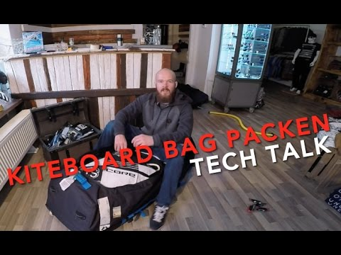 KITEBOARD GOLF BAG RICHTIG PACKEN - KITE BUDDY TECH TALK