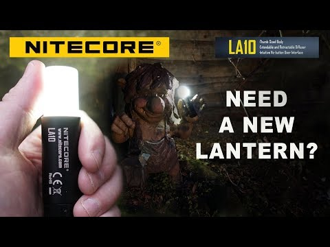 Nitecore LA10 - Magnetic Mini Camping Lantern