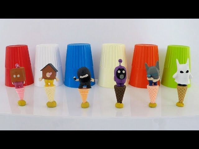 Oddbods Toys Wrong Heads Learn Colors Oddbods Ice Cream Cones Surprise Toys for Kids