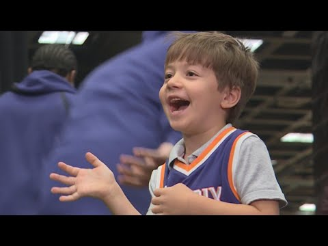 Phoenix Suns throw party for lonely birthday boy