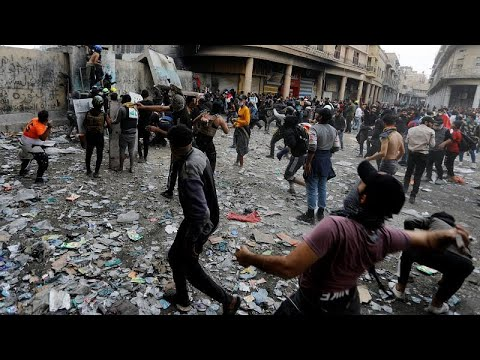 Ιράκ: Νεκροί και τραυματίες στις μαζικές διαμαρτυρίες σε όλη τη χώρα…