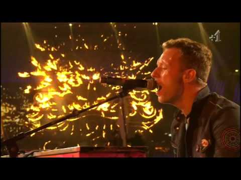 Coldplay - Up In Flames: The Paralympic Games Closing Ceremony 2012 [HD]