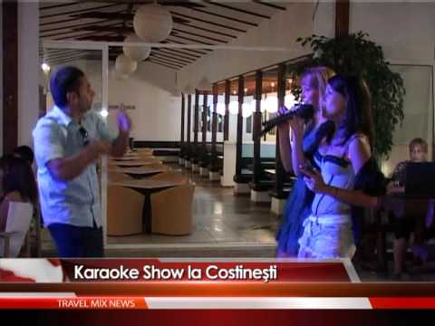 Karaoke show la Costineşti – VIDEO