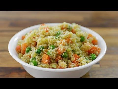 How to Make Cauliflower Rice | Cauliflower Fried Rice Recipe