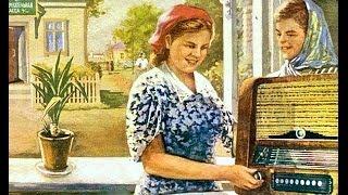 """Москва, 1954, """"Путешествие по ГУМу"""" Бытовая техника на прилавках магазина Фильм"""