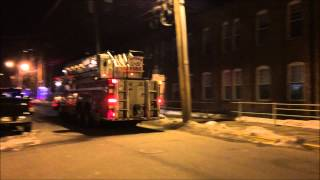 preview picture of video 'PATERSON FIRE DEPARTMENT LADDER 2 RESPONDING MODIFIED TO SMOKE CONDITION IN PATTERSON, NEW JERSEY.'