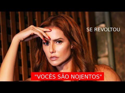 Deborah Secco se revolta com internauta que comparou Eduardo Galvão com Marcius Melhem