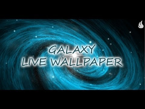 Video of Galaxy Live Wallpaper