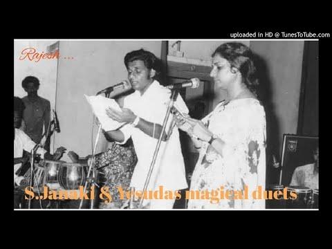 Ivide Kaattinu Sugandham (Raagam-1975) by S JANAKI & YESUDAS - REMASTERED VERSION