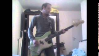 Angels and Airwaves - Bullet in the wind Bass Cover