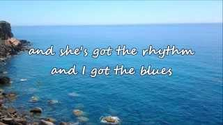 Alan Jackson - She's Got The Rhythm (And I Got The Blues)[with lyrics]