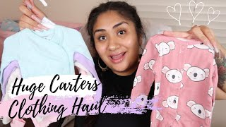 🎀 GIANT BABY GIRL CLOTHING HAUL! | CARTERS NEWBORN - 3MONTHS