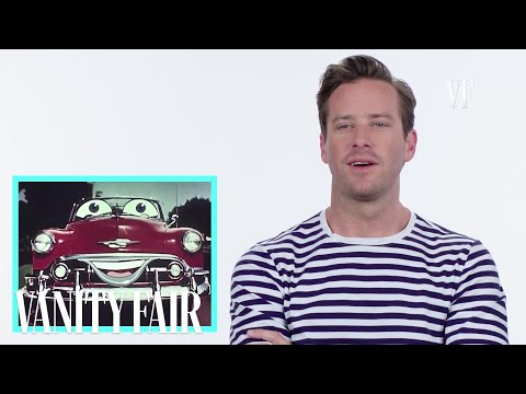 Armie Hammer on Talking Cars In Movies & TV | Vanity Fair