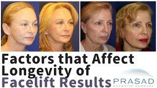 Factors that Affect How Long a Facelift Results Last