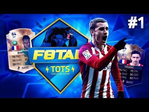 F8TAL TOTS! | BRONZE PLAYERS IN DIVISION 1!! | TOTS Griezmann #1