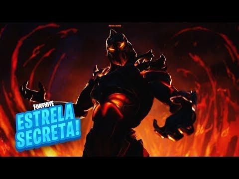 ESTRELA/ESTANDARTE DE BATALHA SECRETA SEMANA 8 TEMPORADA 8 DE FORTNITE