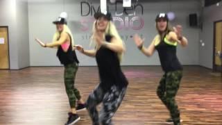 'Green Light' Pitbull // DANCE PARTY HUSTLE @ Diva Den Studio