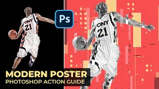 Modern Poster Photoshop Action Guide