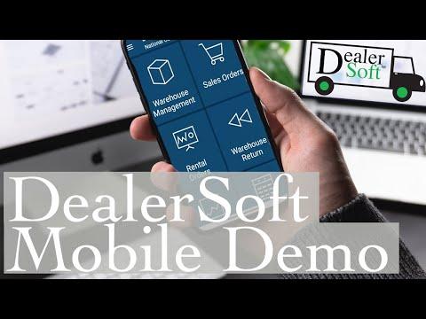 Mobile Rental and Sales Screens