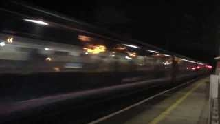 preview picture of video 'FGW HST at Acton Main Line 1730 BRI-PAD (1A27) 12/10/13'