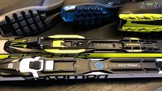 Видео: Типы креплений для беговых лыж, совместимость и многое другое
