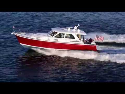 Sabre 45 Salon Express video
