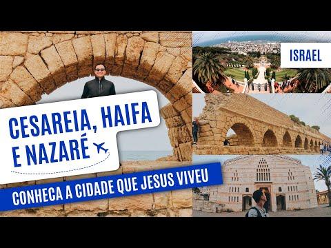 Tour por Israel: CESAREIA, HAIFA e NAZARÉ