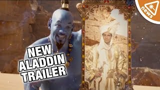 Does the New Aladdin Trailer Have Fans Back on Board? (Nerdist News w/ Amy Vorpahl)