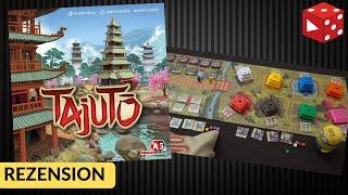 Tajuto (Reiner Knizia, Abacus Spiele 2019) - Gefühlvolles Familien-Strategiespiel