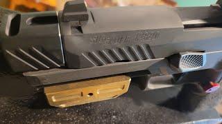 SIg Sauer Open gun #frankengun #compensatedX5