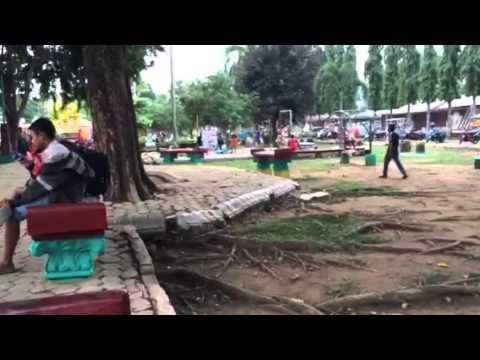 Video Taman bermain di Kotabumi Lampung Utara