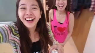 Hala! Nakita yung underwear ko sa video!