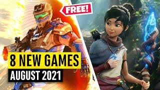 8 nouveaux jeux août (2 JEUX GRATUITS)