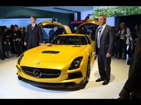 Mercedes SLS AMG Black Series - 2012 L.A. Auto Show