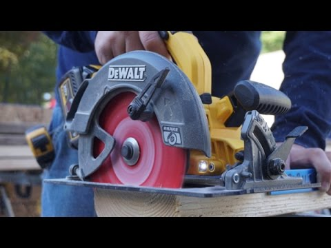 DEWALT FlexVolt 7-1/4 Circular Saw Review DCS575T2