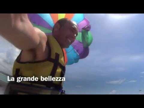 Preview video Parasail in Mauritius - Feb 2016