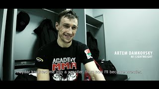 M-1 Challenge 55: Artem Damkovsky Backstage Interview