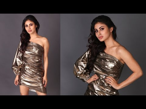 Mouni Roy HOT Photoshoot post  her Bollywood Debut in GOLD