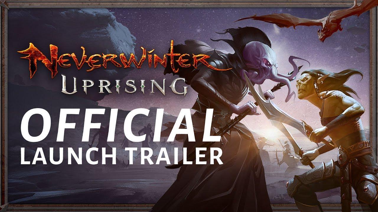 Neverwinter Uprising arriva su PS4 ed XBox One