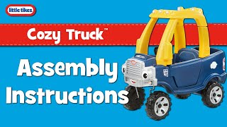 Paspiriama rožinė mašinėlė   Cozy coupe Truck   Little tikes 627514