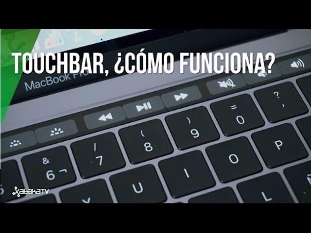 Así funciona la Touch Bar del nuevo MacBook Pro