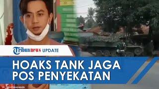 FAKTA VIRAL: Tank TNI AD Diterjunkan untuk Penyekatan Mudik Lebaran di Bekasi-Bogor? Ini Faktanya