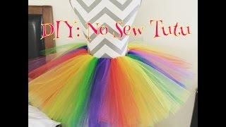 DIY: No Sew Tutu