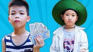 Trò Chơi Cậu Bé Nhặt Ve Chai Và Đứa Trẻ Nghịch Ngợm - Bé Nhím TV - Đồ Chơi Trẻ Em Thiếu Nhi